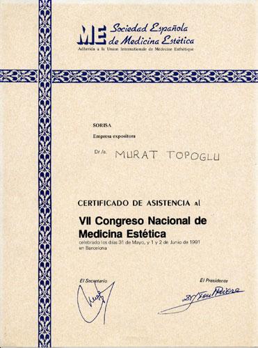 Dr. Murat Topoglu - Diploma 18