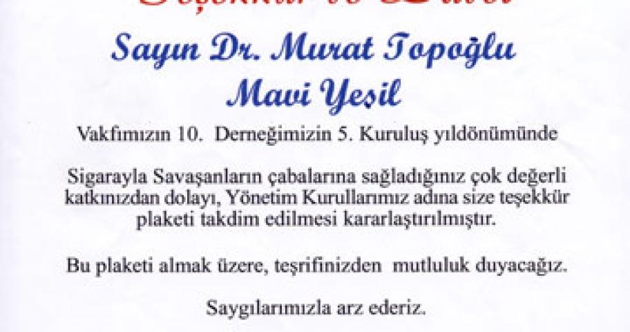 Dr. Murat Topoglu - Diploma 19
