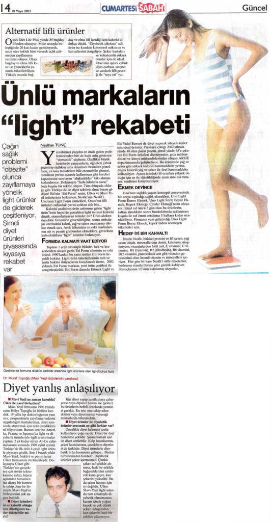 Dr. Murat TOPOĞLU Gazete ve Dergi Haberleri - 01