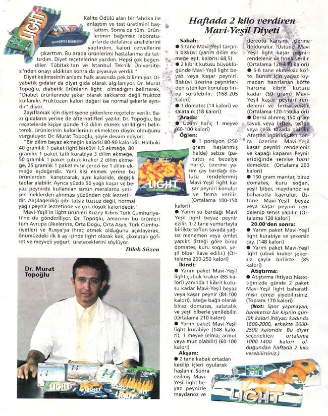 Dr. Murat TOPOĞLU Gazete ve Dergi Haberleri - 13