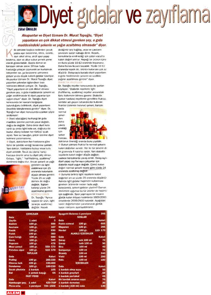 Dr. Murat TOPOĞLU Gazete ve Dergi Haberleri - 21