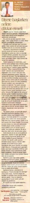 Dr. Murat TOPOĞLU Gazete ve Dergi Haberleri - 26