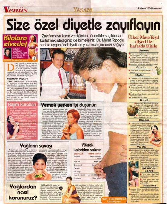 Dr. Murat TOPOĞLU Gazete ve Dergi Haberleri - 33