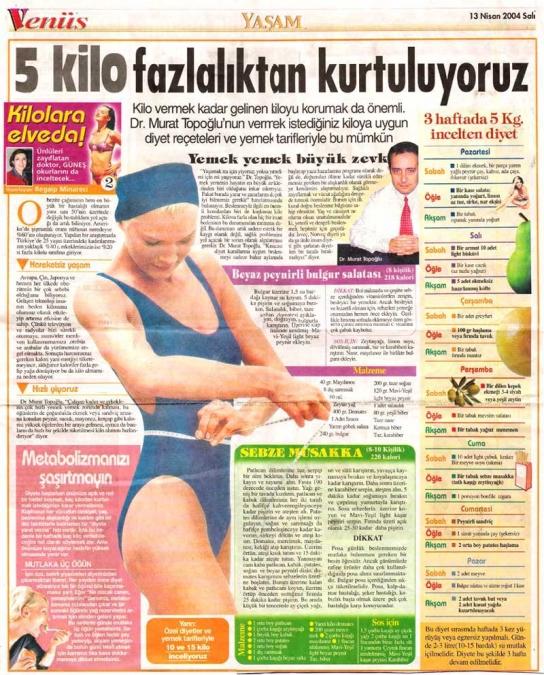 Dr. Murat TOPOĞLU Gazete ve Dergi Haberleri - 34